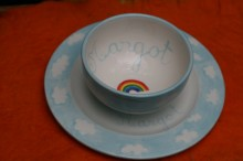 Personalised Bowl and Plate